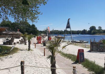 Beachbar & See